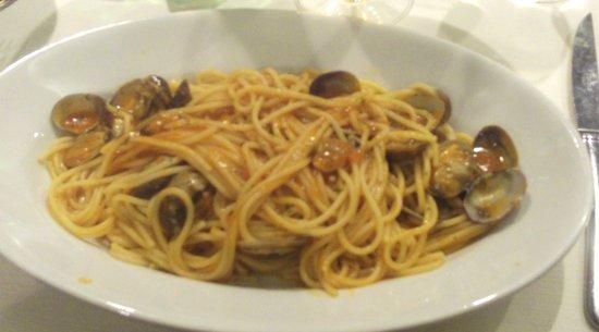 Castelfranco Veneto, Italia: Spaghetti Vongole