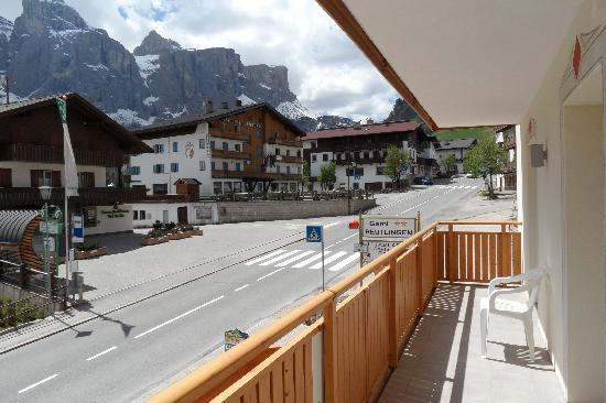 Garni Reutlingen: Desde el balcón!!!! Bello!!
