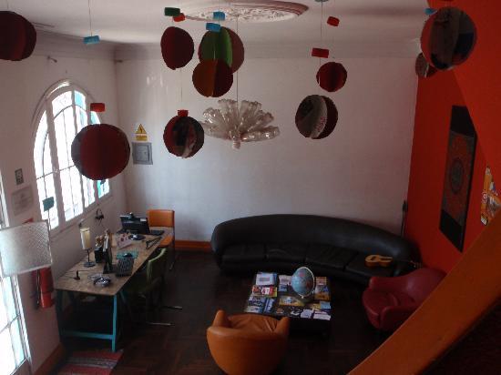 Red Llama Eco Hostel: Reception