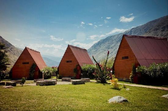 La Confianza Hotel - Lunahuana: cabañas maravillosas