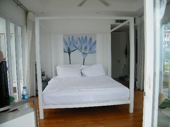 فيلا نالينادا: The bed