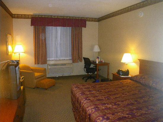 Lebanon Valley Inn & Suites: Clean room