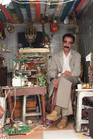 Mequinez, Marruecos: boutique dans la medina