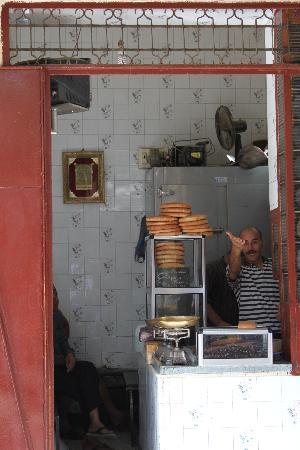 Fez, Marrocos: boutique dans la medina