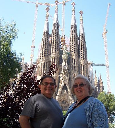 Spanish Trails by Alba Programas: At La Sagrad Familia