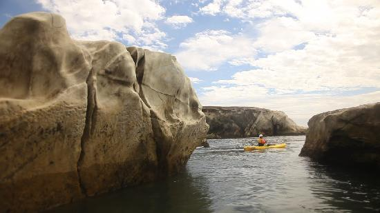 San Luis Obispo, Californie : Kayaking Morro Bay