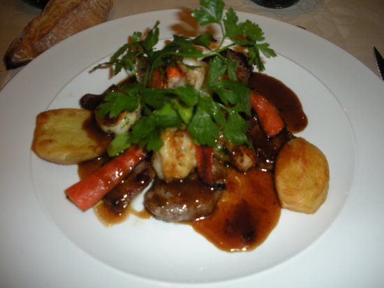 Bettembourg, Luxembourg : Lamb main course