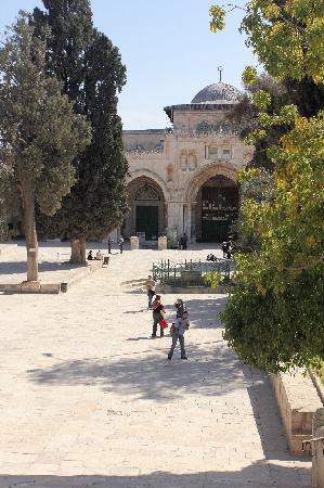 Tempelberg: Al-Aqsa-Moschee