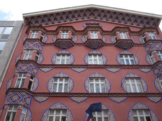 Λουμπλιάνα, Σλοβενία: une belle façade