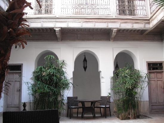 Riad Tzarra : le patio
