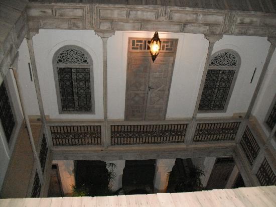Riad Tzarra : vue de la terrasse