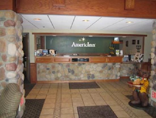 AmericInn Lodge & Suites Wabasha: Entry of AmericInn, Wabasha, MN