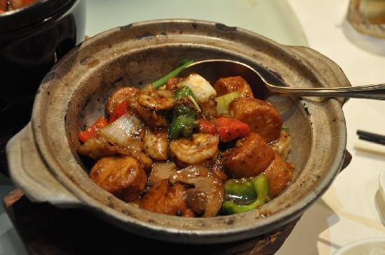 Dragon-i: Claypot tofu