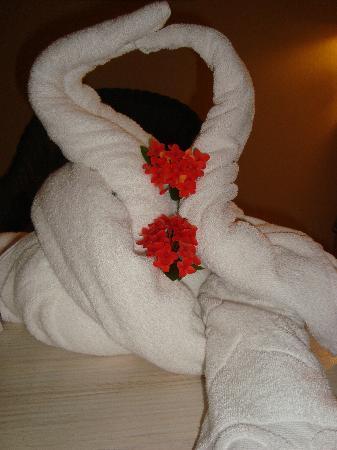 Iberostar Costa Dorada: Towel animal