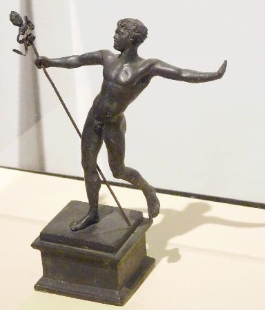 National Archaeological Museum of Naples: Household God found at Herculaneum