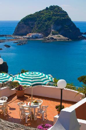 Hotel Residence Sant'Angelo: Solarium Panoramico sul mare