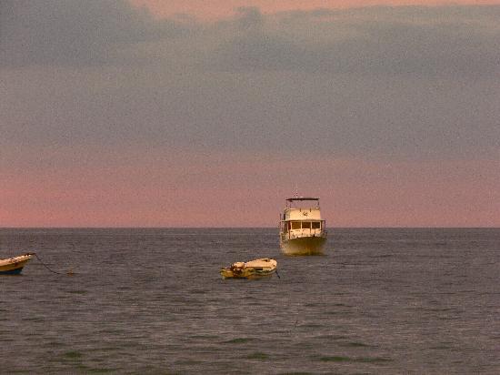 Single Fin Surf Charters: the Aquadesiac waiting for us