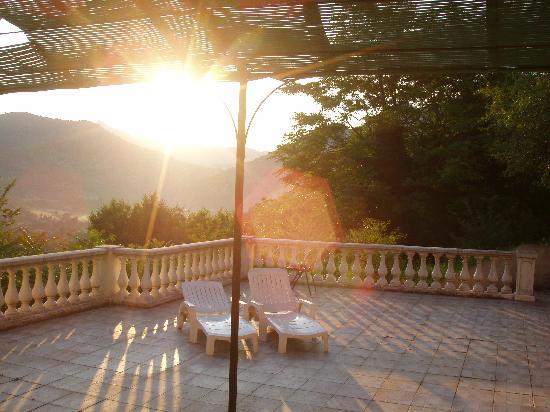 L'Auberge Provencale : so weckte uns die Sonne morgens