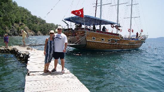 Sarigerme, Turquía: 12 island boat trip