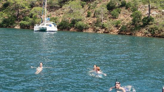 Sarigerme, Turkey: 12 island boat trip