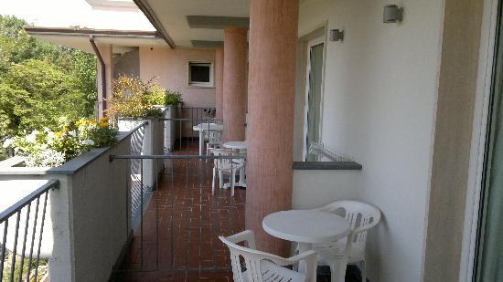 Hotel Villa Marzia: Il balcone