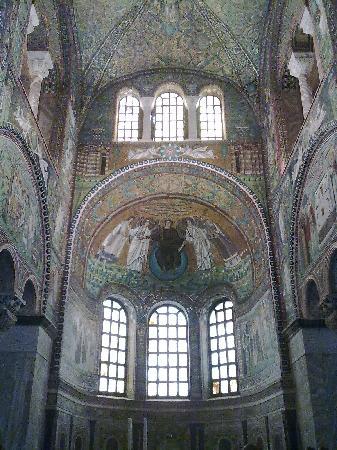 Basilica San Vitale: Basilica mosaics
