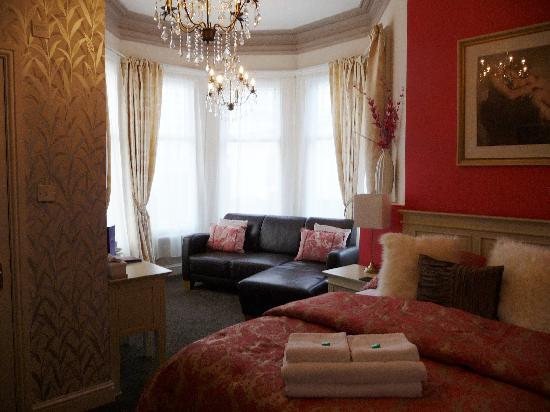 "The Clontarf Hotel: ""Our first look at our lovely bedroom!"""