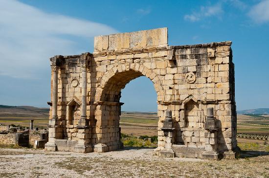 Site archéologique de Volubilis : Arco di Trionfo