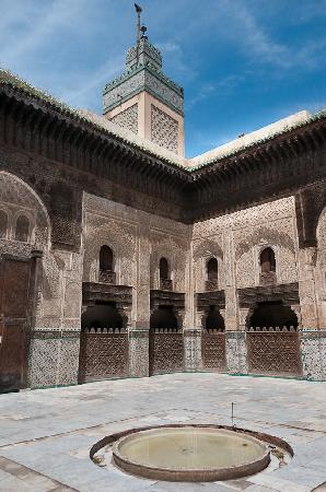 Fes, Morocco: The Madrasa Bou Inania