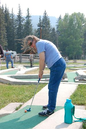 South Fork, CO: minature golf