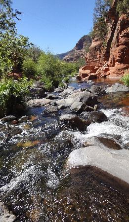 Slide Rock State Park : Bubbling brooks throughout park