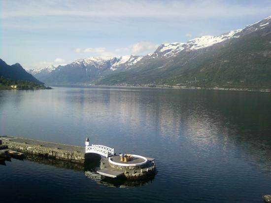 Lofthus, Norvège : View from hotel room