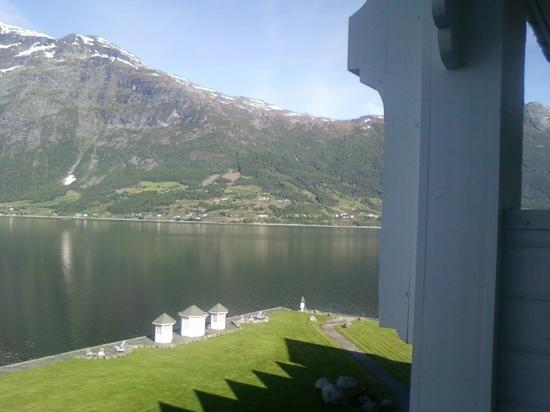 Hotel Ullensvang: More views from our hotel room