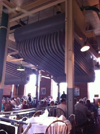 Powerhouse Eatery: main dining room Powerhouse Restaurant