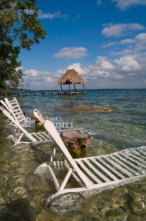 Relajamiento fotograf a de kuuch kaanil villas eco for Villas wayak bacalar