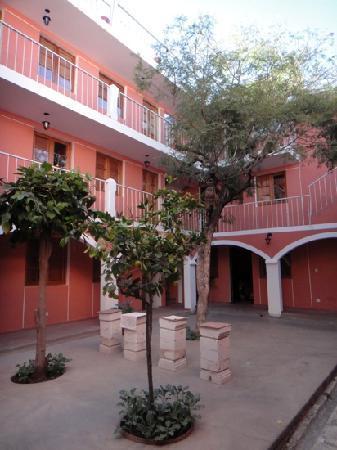 courtyard at Posada Nueva Espana