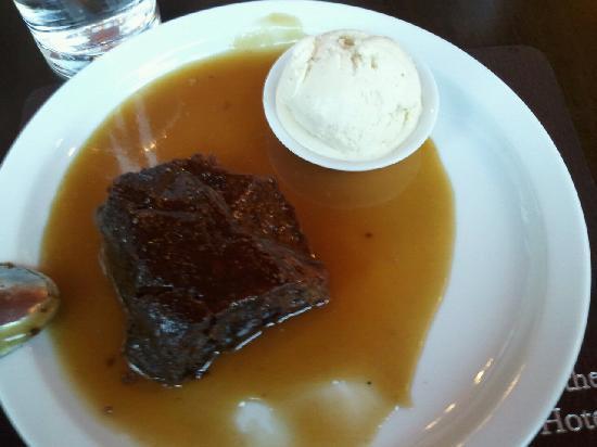 No 55 Bistro: Sticky Toffee Pudding