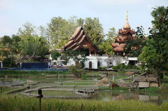 The Dhara Dhevi Chiang Mai : View from our villa