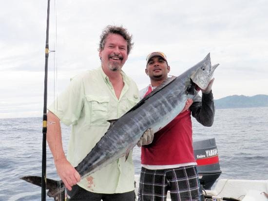 Playa Venao, Panama: great fishing for tuna and wahoo