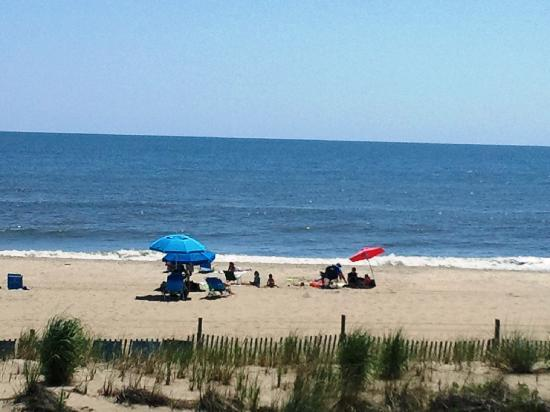 Dewey Beach, DE: view from room