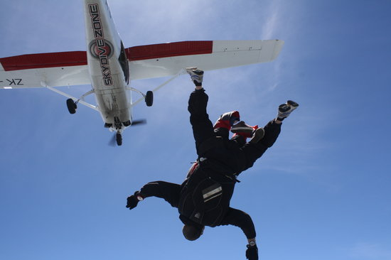 The Skydive Zone: And then it was go, falling