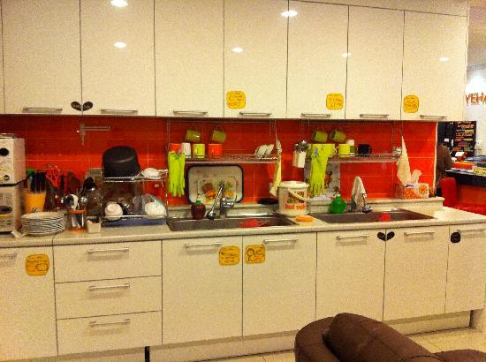 Yeha guesthouse: pantry