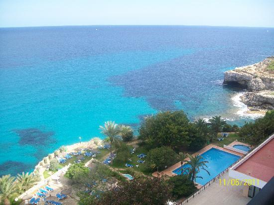 Complejo Calas de Mallorca : view from our room