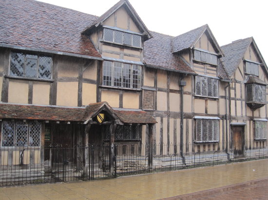 Shakespeare's Birthplace: Birthplace of shakespeare