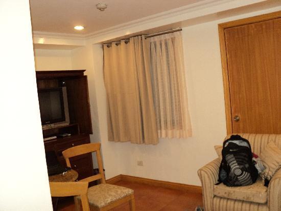 โรงแรมซิตี้ การ์เด้น สวีท: our room
