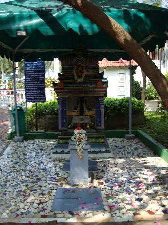 Ideal Beach Resort: One of the shrines in the garden area