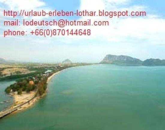Lothars Prachuapkhirikhan Guest House: Blick auf Ao Noi