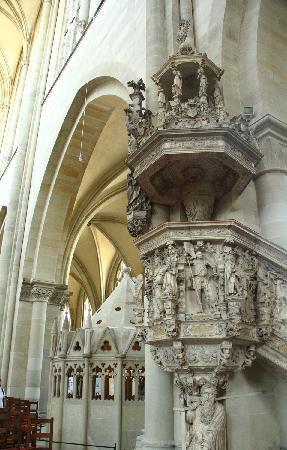 Magdeburg, Germania: Kanzel im Dom