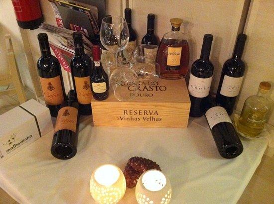 Atelier de Comida Sto Antonio: wine & cognac