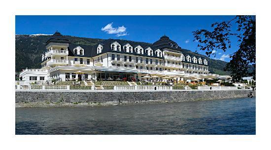 Grand Hotel Lienz: Hotel Südseite